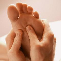 Ontspannende voetmassage